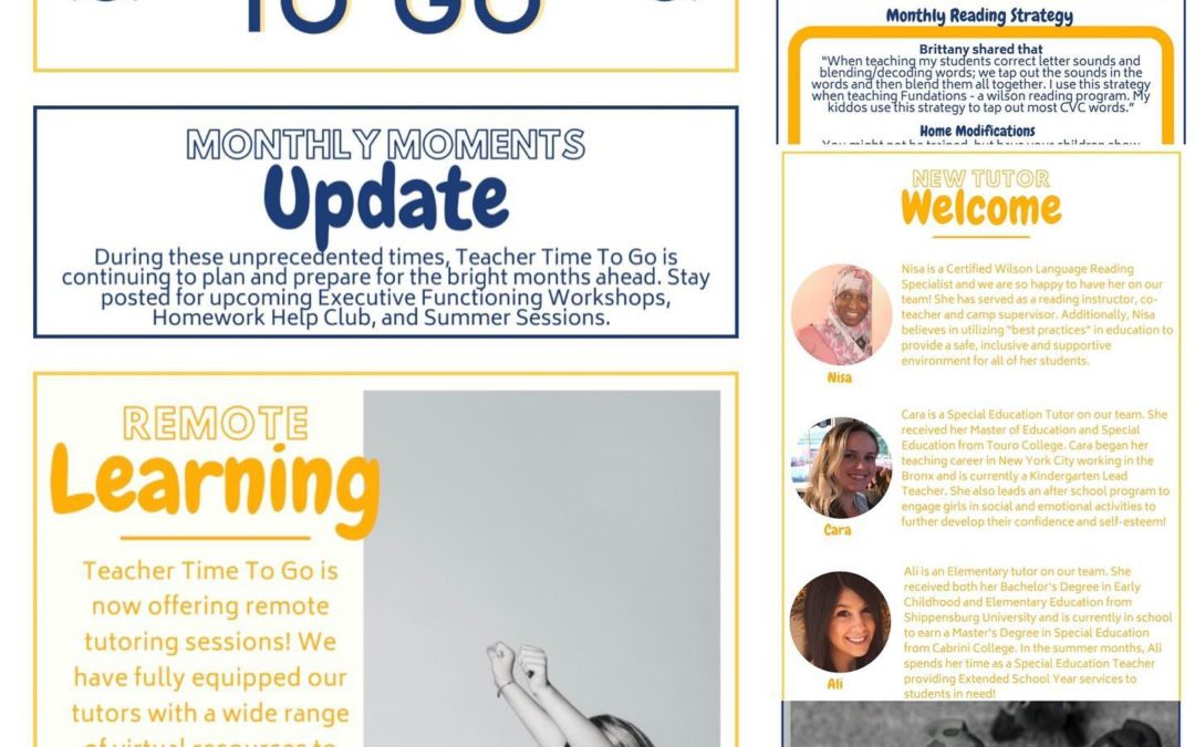 April Newsletter
