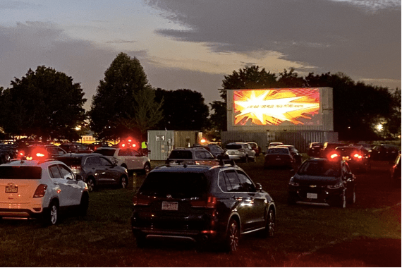 Drive-in theater Philly