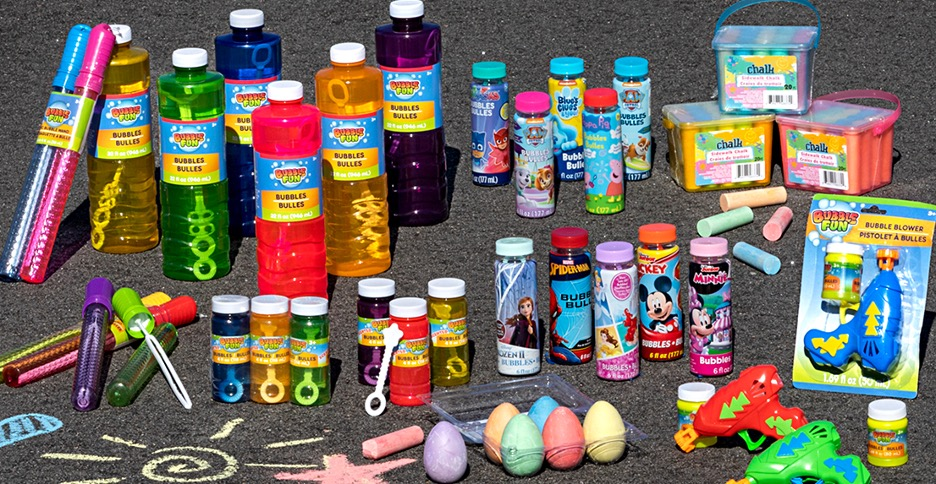 A picture containing bottle, indoor, items, plastic  Description automatically generated